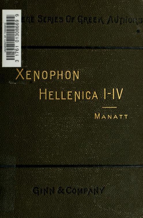 Xenophon - H0llenica; books I-IV