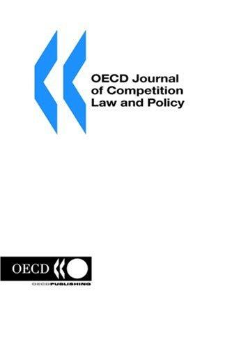OECD Journal of Competition Law and Policy