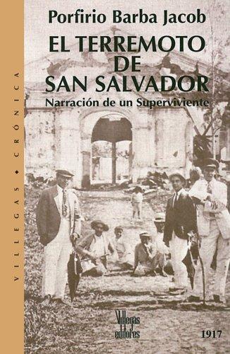 El terremoto de San Salvador