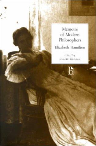Memoirs of modern philosophers