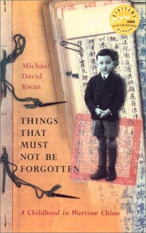 Download Things That Must Not Be Forgotten
