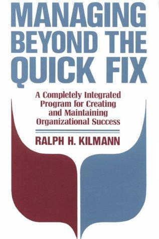 Download Managing Beyond the Quick Fix