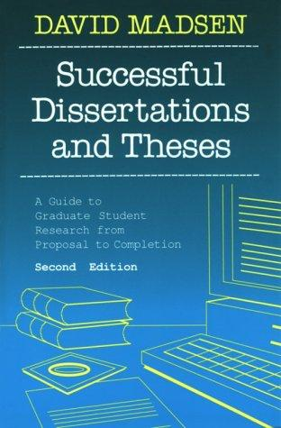Download Successful dissertations and theses