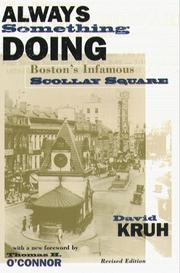 Always Something Doing: Boston's Infamous Scollay Square PDF Download