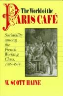 Download The World of the Paris Café
