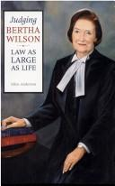 Judging Bertha Wilson