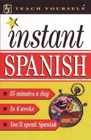 Download Teach Yourself Instant Spanish