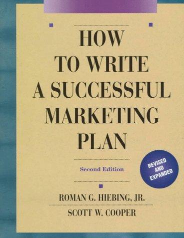 Download How to write a successful marketing plan
