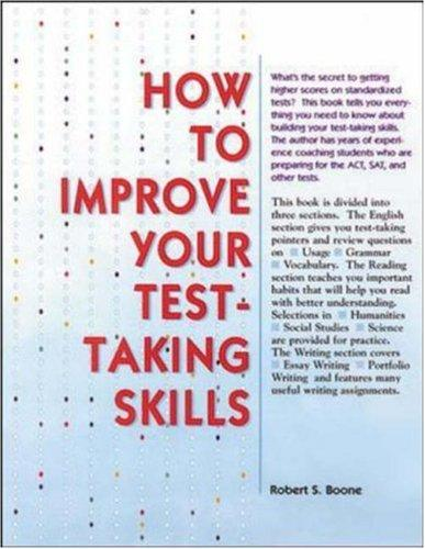 Download How to Improve Your Test Taking Skills