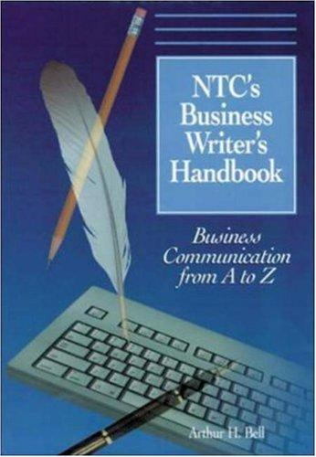 Ntcs Business Writers Handbook