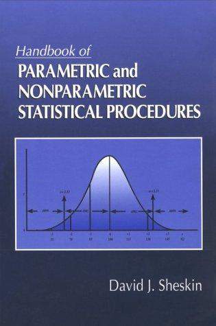 Download Handbook of parametric and nonparametric statistical procedures