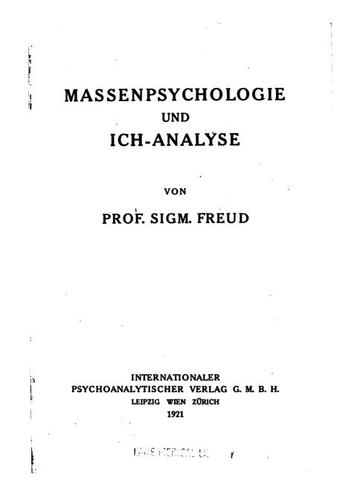 Download Massenpsychologie und Ich-Analyse