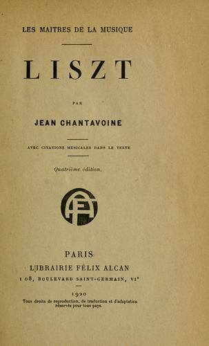 Download Liszt