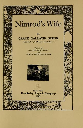 Download Nimrod's wife