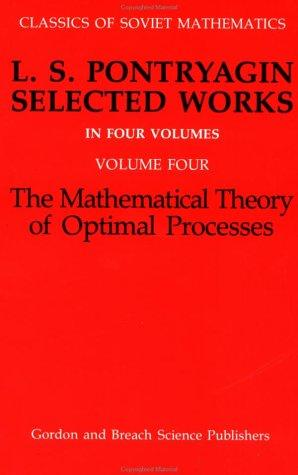 The mathematical theory of optimal processes
