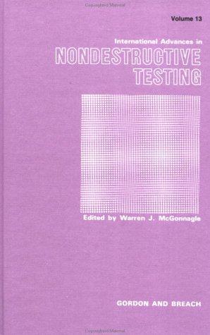 Download International Advances in Nondestructive Testing