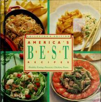 Cover of: Americas Best Recipes Healthy Eating, Desserts, Chicken, Pasta | Landolls Ed