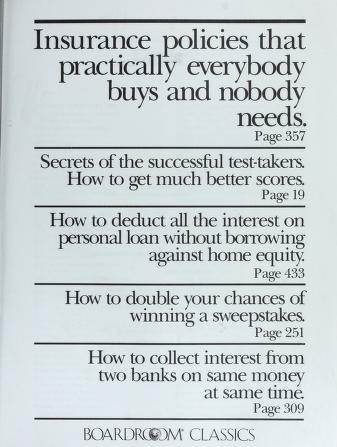 Cover of: THE BIG BLACK BOOK | Boardroom Classics