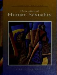 Cover of: Dimensions of human sexuality by Curtis O. Byer