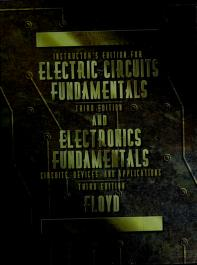 Cover of: Electronic Fundamentals | Thomas L. Floyd