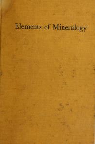 Cover of: Elements of mineralogy | Brian Harold Mason