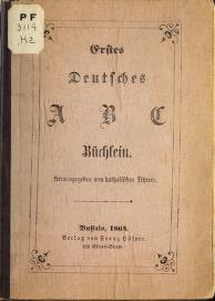 Cover of: Erstes deutsches A B C büchlein |