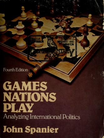 Cover of: Gamesnations play | John Spanier