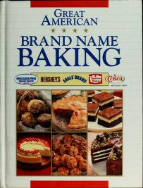 Cover of: Great American Brand Name Baking  