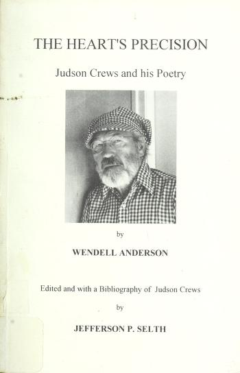 Cover of: The heart's precision | Wendell B. Anderson