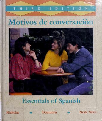 Cover of: Motivos de conversaciâon | Robert L. Nicholas