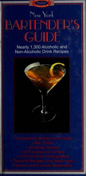 Cover of: New York Bartender's Guide   Sally Ann Berk