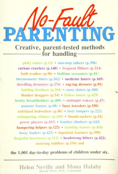 No-fault parenting by Helen Neville