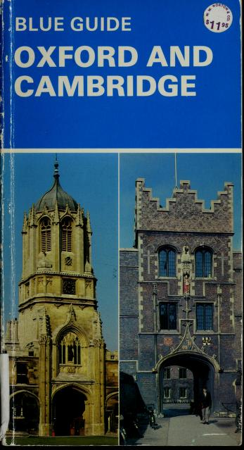 Oxford and Cambridge by Mercia Mason