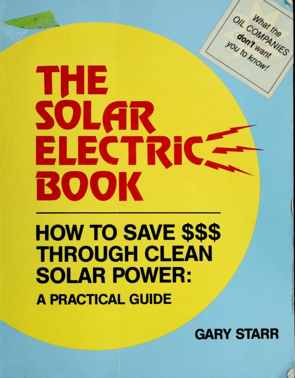 The solar electric book by Gary Starr