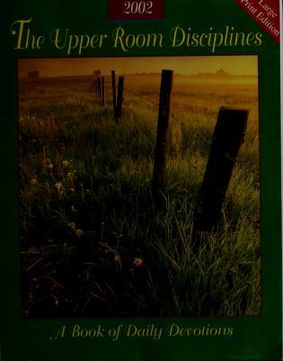 Cover of: Upper Room Disciplines, 2002   Rita Collett