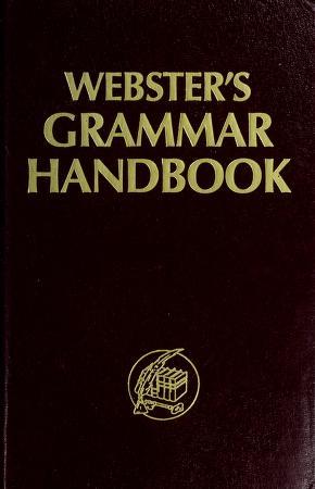 Cover of: Webster's grammar handbook | J Radcliffe