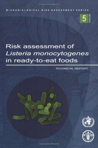Risk Assessment Of Listeria Monocytogenes In Ready-to-eat Foods by Food and Agriculture Organization of the