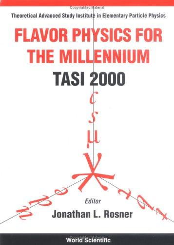 Flavor physics for the millennium by Theoretical Advanced Study Institute in Elementary Particle Physics (2000 Boulder, Colo.)