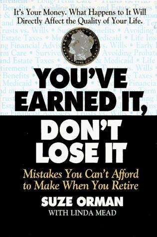You've earned it, don't lose it