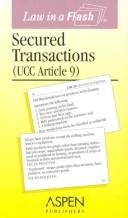 Secured Transactions, (UCC Article 9) by Fortin