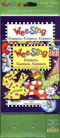 Wee Sing Games Games Games book and cd by Susan Hagen Nipp