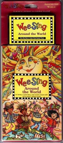 Wee Sing Around the World book and cassette by Susan Hagen Nipp