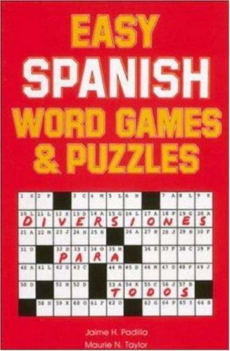 Easy Spanish Word Games & Puzzles by Jamie Padilla
