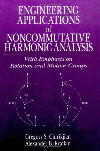 Engineering applications of noncommutative harmonic analysis by