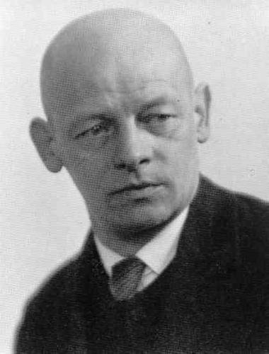 Photo of Oskar Schlemmer