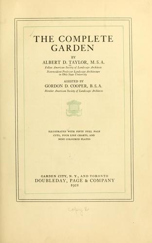 The complete garden