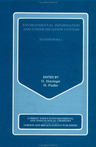 Environmental Information and Communication System by O. Hutzinger